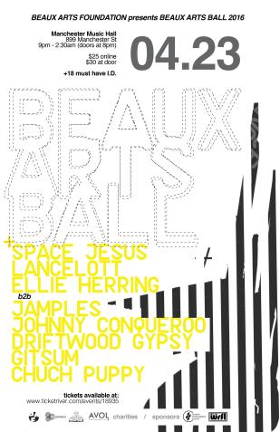 Beaux Arts Ball 2016: April 23, 2016