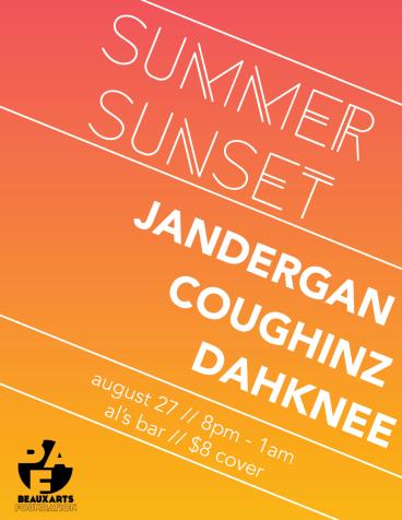 Summer Sunset, A Beaux Arts Fundraiser: August 27, 2016.