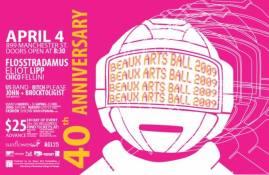 Beaux Arts Ball 2009: April 4, 2009.