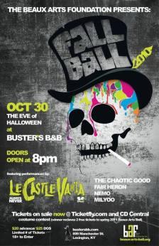Fall Ball 2010: October 30, 2010.