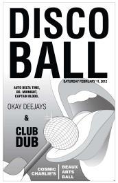 Disco Ball 2012: February 11, 2012.